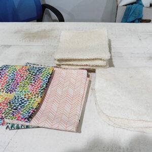 Toallitas y pañuelos reutilizables